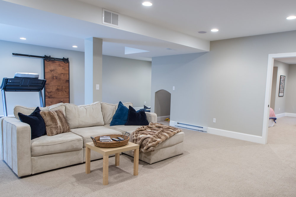 FINISHED BASEMENT WITH GUEST SUITE