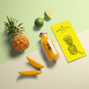 Fresh + Juicy<strong>Brand Identity + Print</strong>