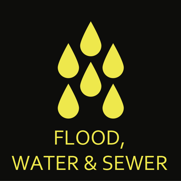 Flood, water & sewer restoration