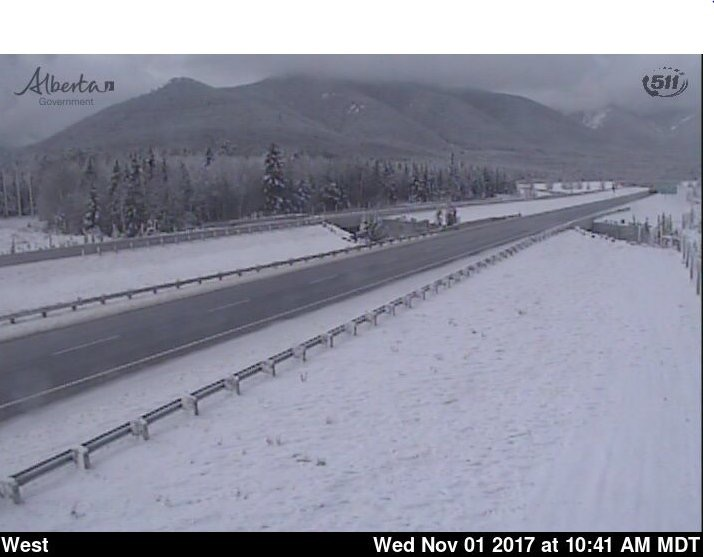 Nov 1st, 2017     TransCanada Highway near Canmore