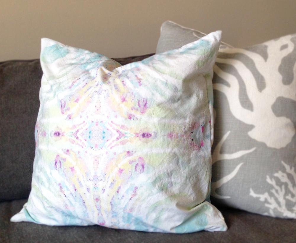 Tunnel Vision Pillows