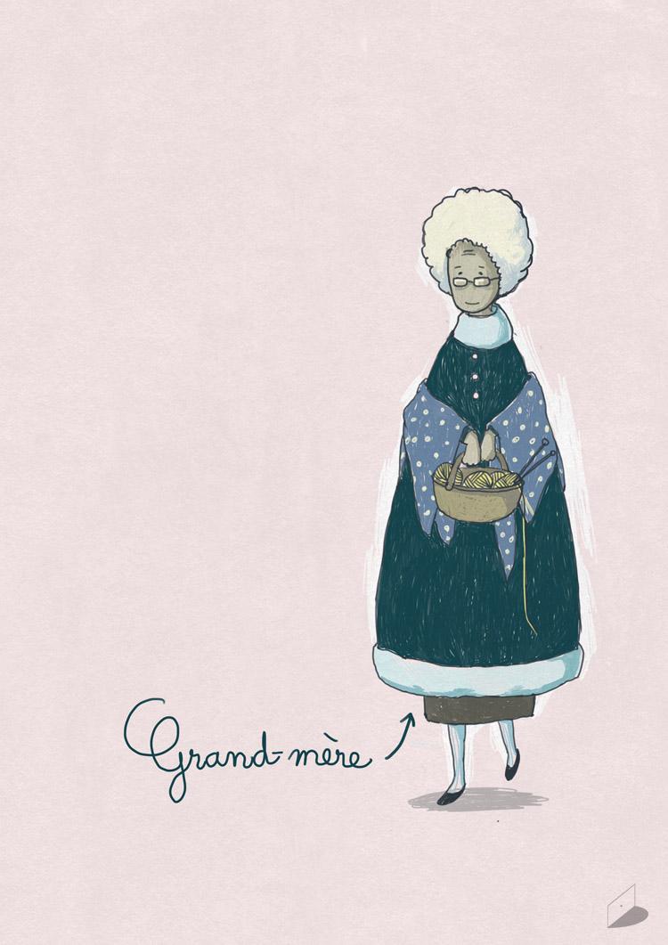 Grandma Character Design