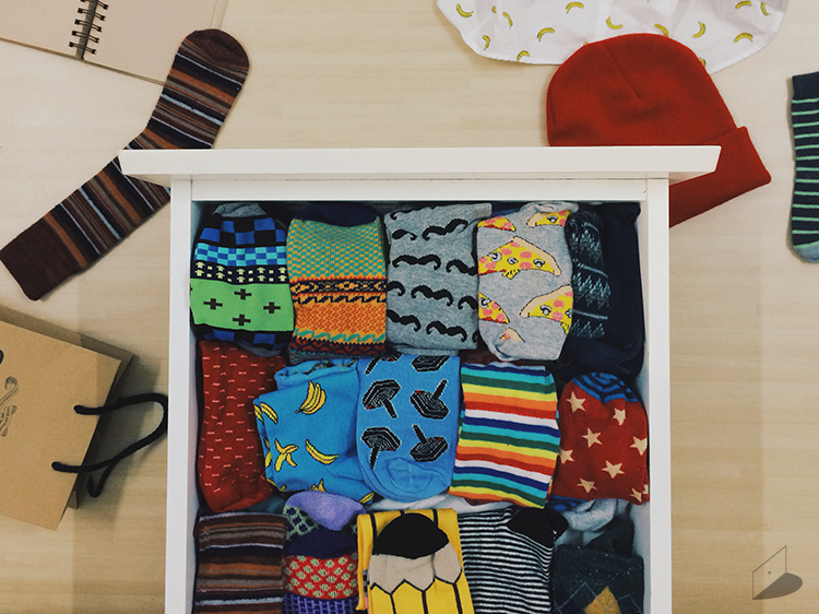 My favorite drawer of socks which is growing bigger and bigger...!