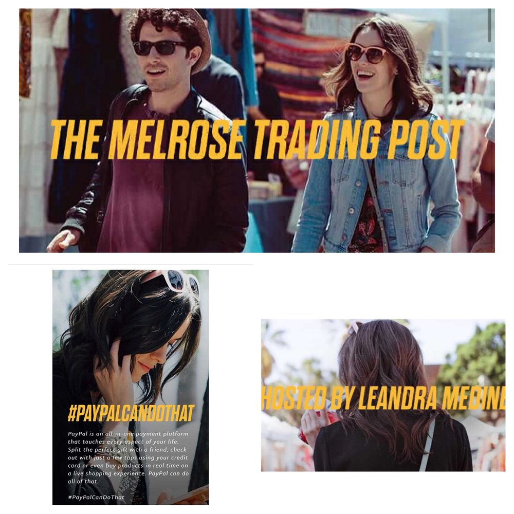 PayPal - You can spot Ashlynn looking very hip as she strolls around the LA Fairfax Flea Market in an Ad for PayPal.