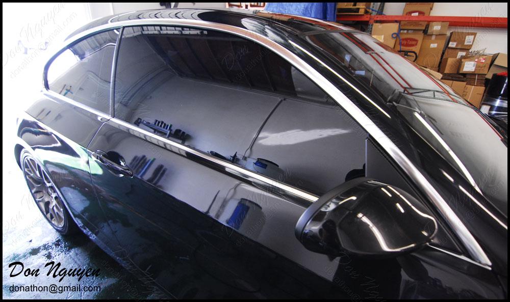 Bmw 328i E92 Coupe Gloss Black Window Trim Vinyl Car Wrap Wannabe Racer Car Wraps
