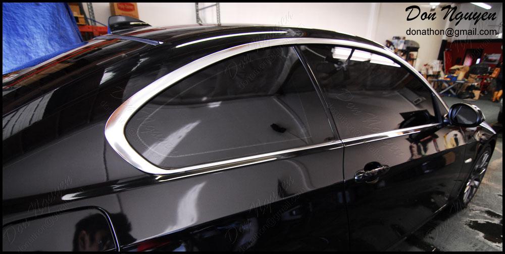 Bmw 328i E92 Coupe Gloss Black Window Trim Vinyl Car
