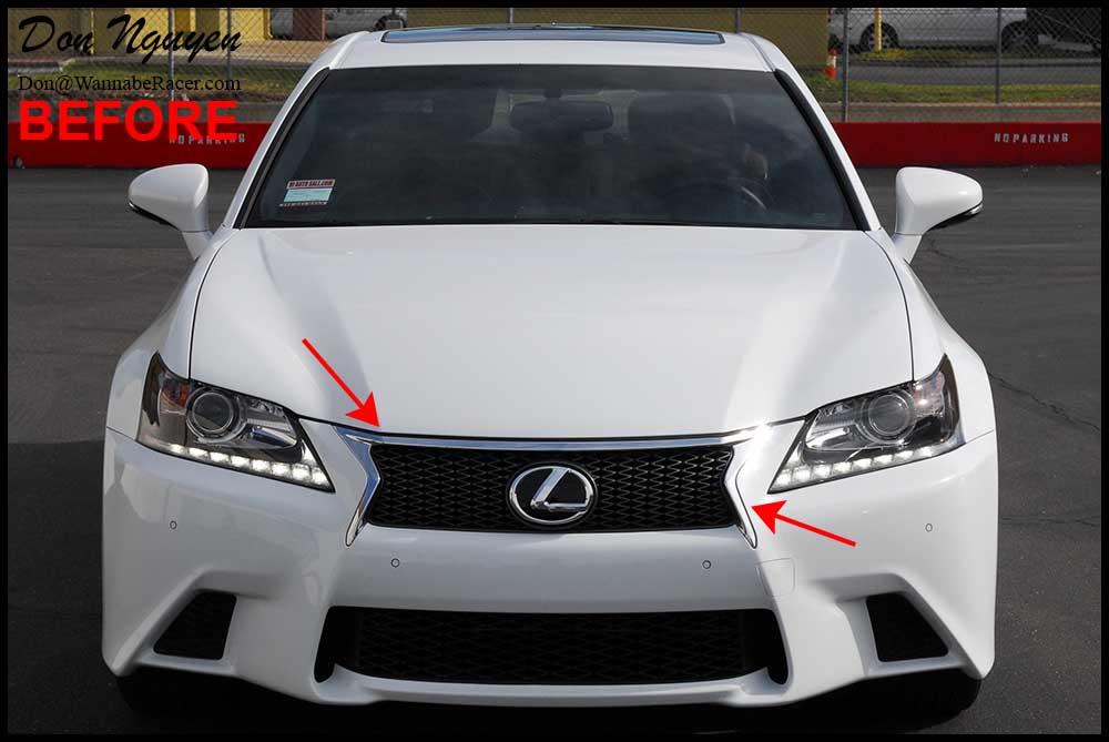 Lexus Gs350 F Sport Sedan Tinted Tail Lights Plasti