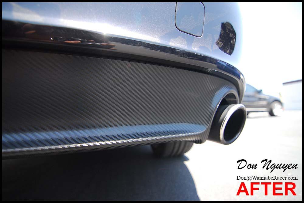 Audi A7 Sedan 3m Gloss Carbon Fiber Spoiler And Rear