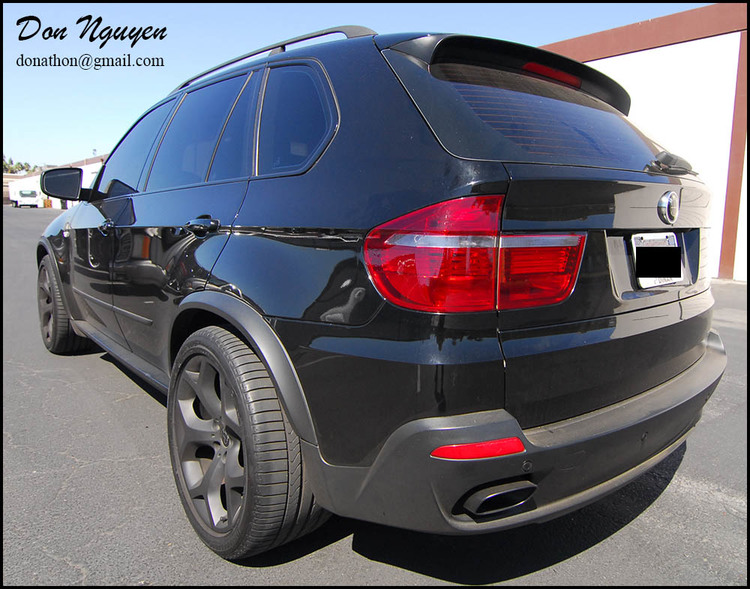 BMW X5 E70 4.8 SUV - Tinted / Smoked Tail Lights Car Wrap