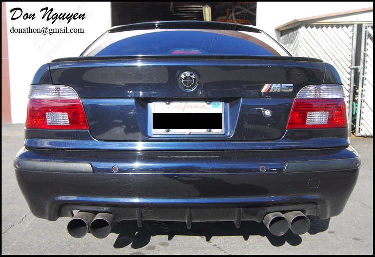 BMW E39 M5 Sedan - Tinted Tail Lights Vinyl Wrap
