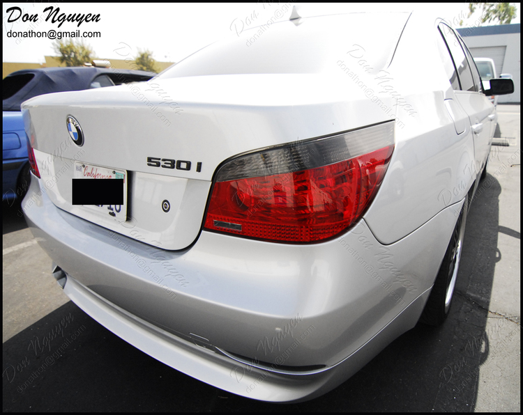 BMW 530i E60 Sedan - Tinted / Smoked Tail Lights