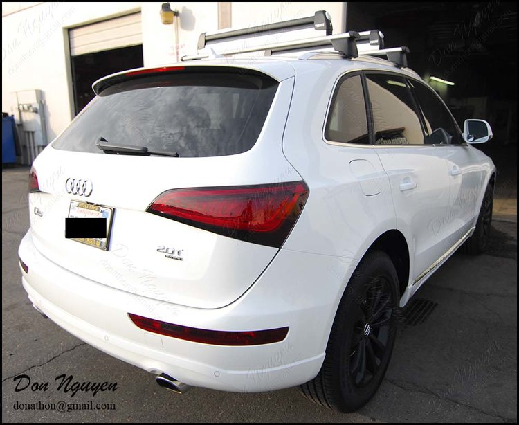 Audi Q5 SUV - Tinted Rear Lights Vinyl Wrap