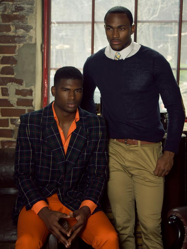 theabdullproject :        Models Broderick Hunter (Wilhelmina Models), Keith Carlos (click models)     Shot by Carlos Jones     Art director Victorya Wagner     Styled by Askia Abdull