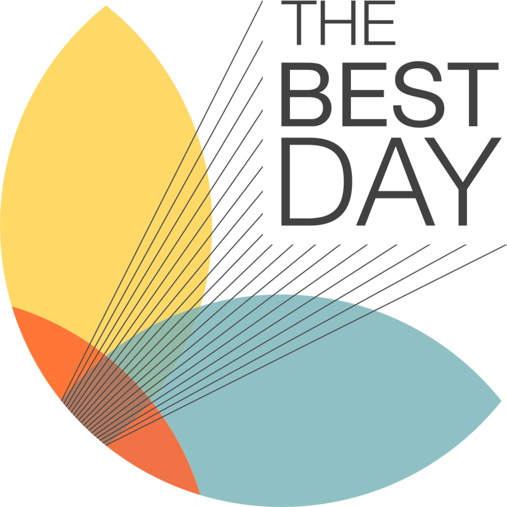 The Best Day's logo.