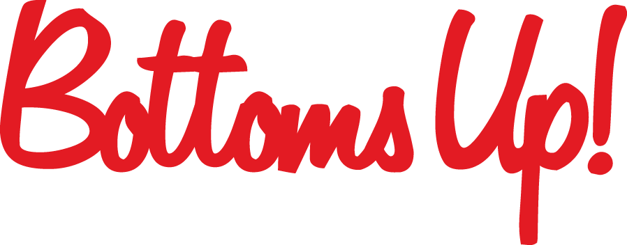 The Bottoms Up! Logo.