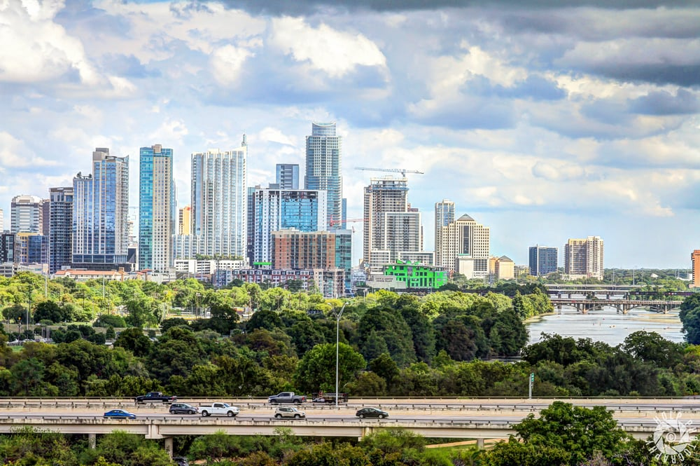 Located above Zilker Park, this location offers breathtaking aerial views of the city.