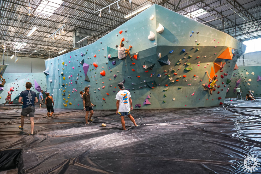 Austin Bouldering Project - Climbing Wall