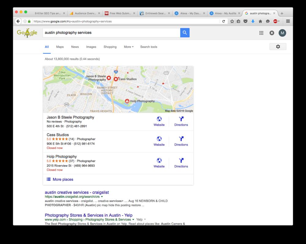 Google Plus - Search Reviews