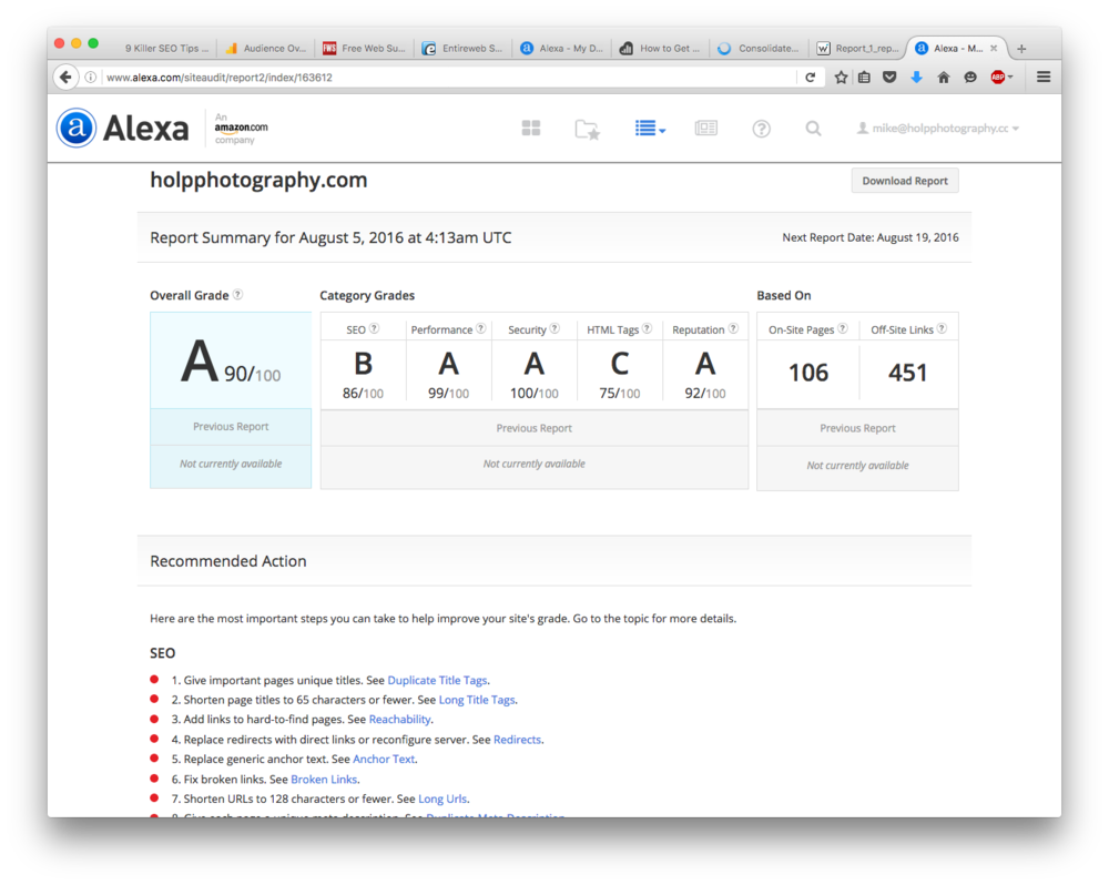 Alexa - Audit Report