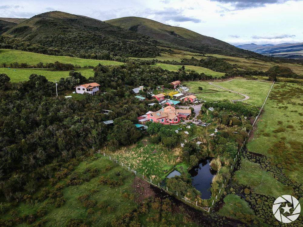 Secret Garden Cotopaxi Hostel in Ecuador