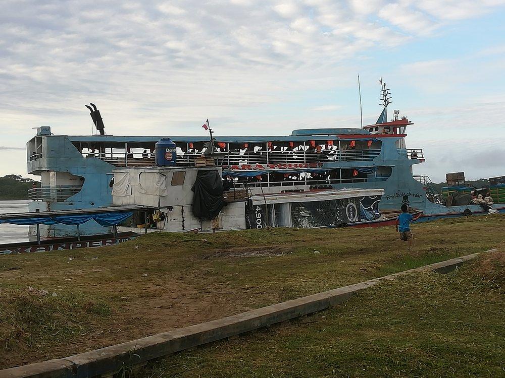 Eduardo Cargo Ship to Iquitos, Peru