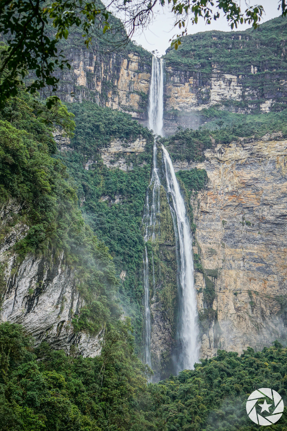 Gocta Watefall near Chachapoyas in Northern Peru