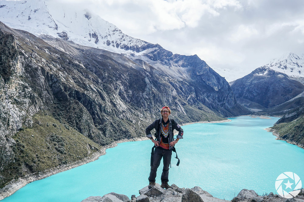 Hiking Paramount Trail in Huaraz, Peru