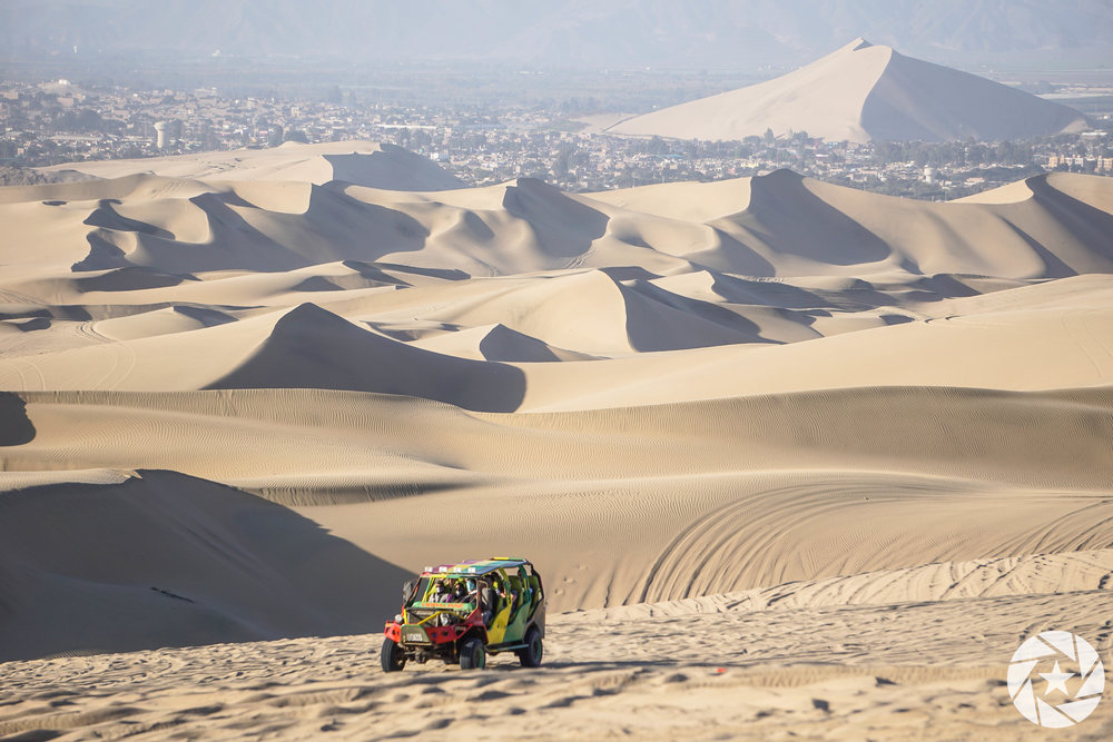 Dune buggy adventures in Huacachina, Peru
