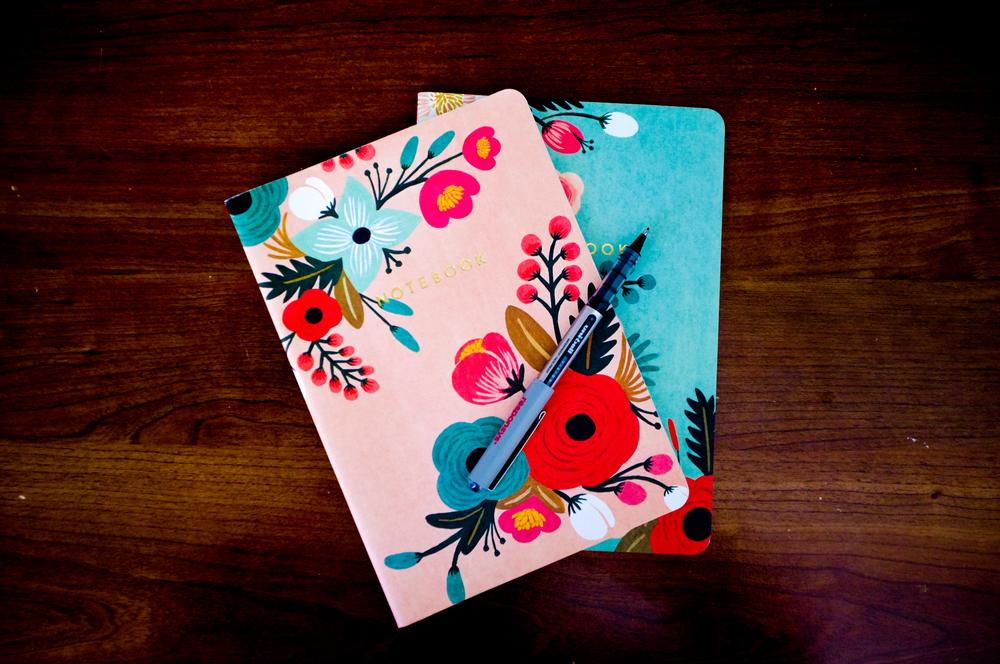 Blue Calendar NoteBook