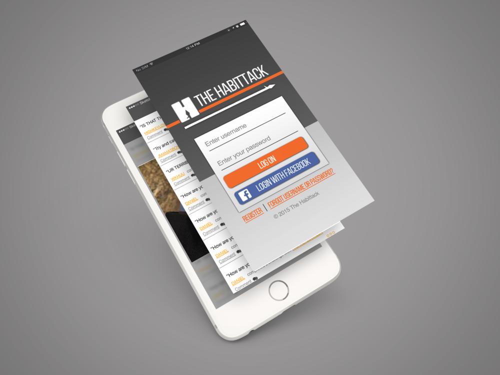 iPhone 6 App Screen PSD Mockup.png