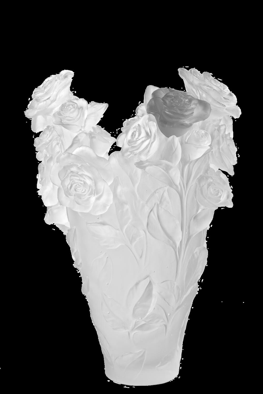 Rose Passion Magnum Vase 50 Ex Daum