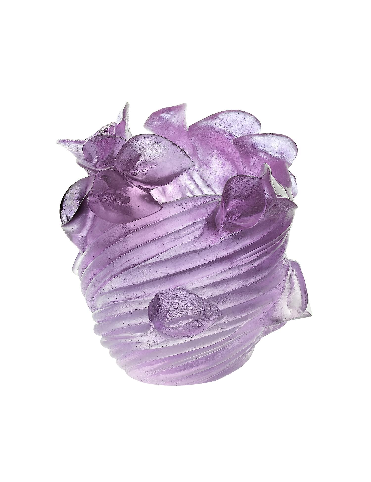 arum ultraviolet vase — daum