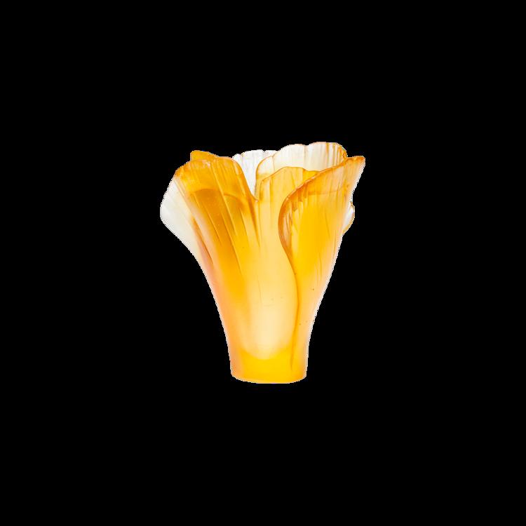 Ginkgo Mini Vase Daum