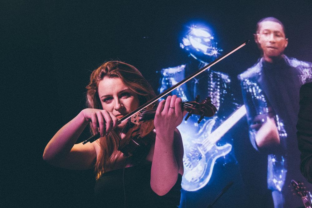 Passage violon pour événement corporate