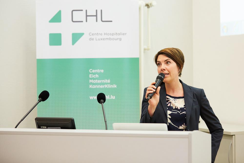 VANESSA GRANDJEAN, psycho-oncologue au CHL:« L'hypnose est une technique de stabilisation capable d'aider le patient à gérer sa douleur ».