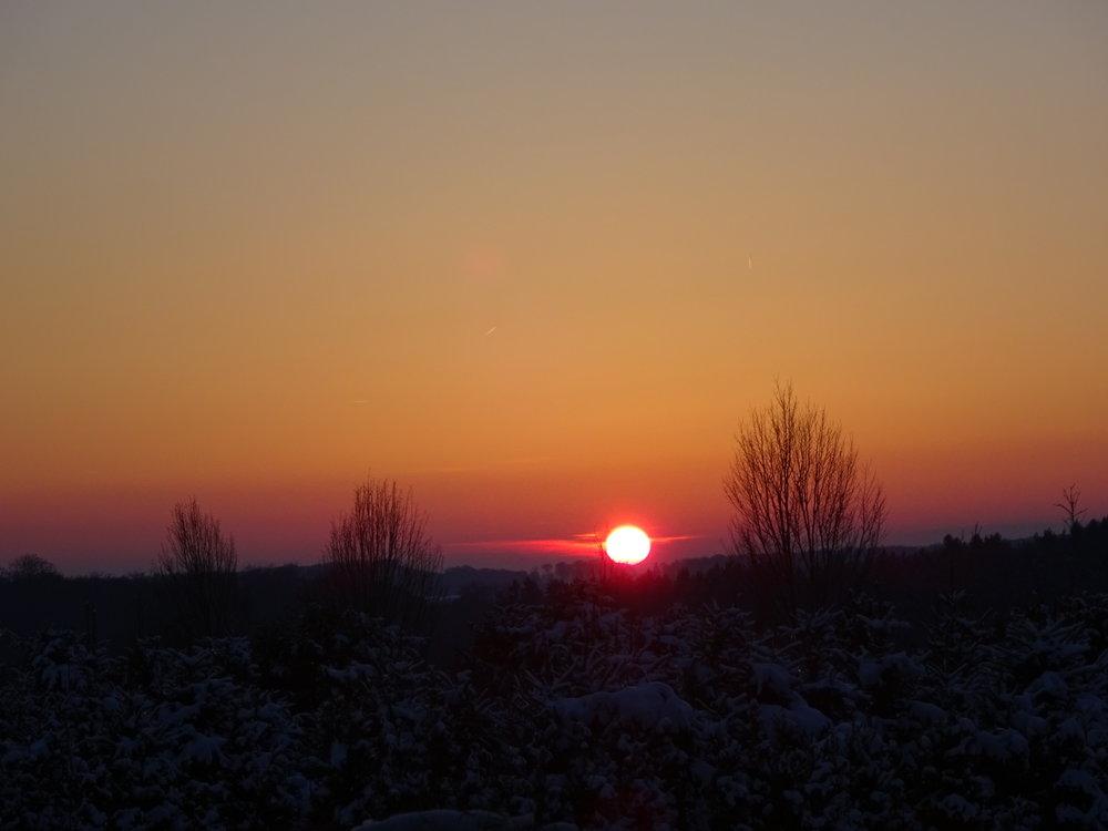 Ne perds jamais espoir, lorsque le soleil se couche les étoiles apparaissent.   Photo : Marie-France