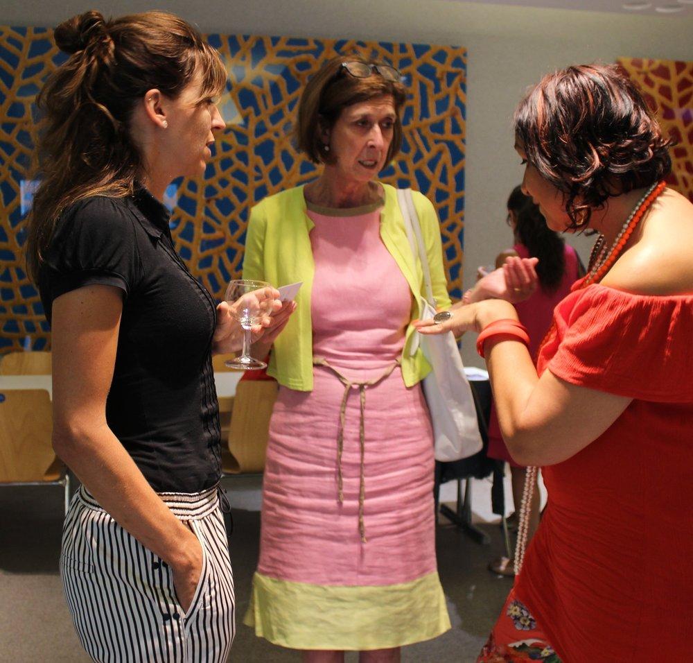 - Le dialogue face à face avec la ministre Lydia Mutsch et son conseiller Anne Calteux a été très enrichissant.