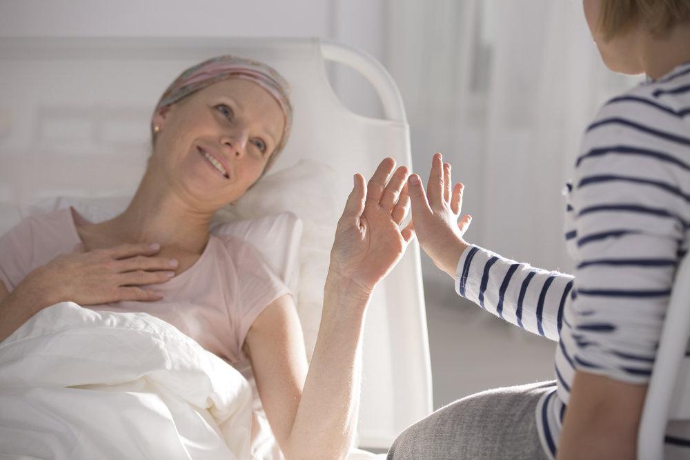 Période de traitement-chimiothérapie. -