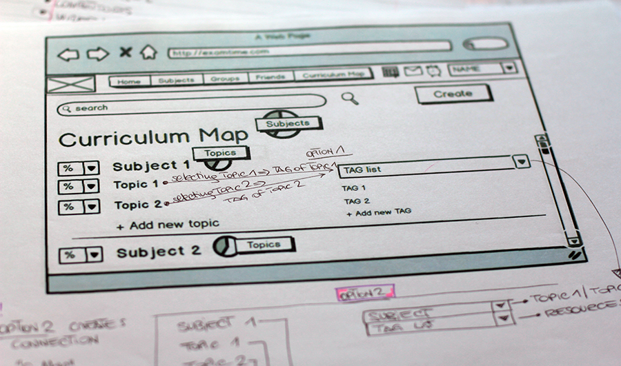 Paper Prototype  : with feedbacks gathered during internal testing