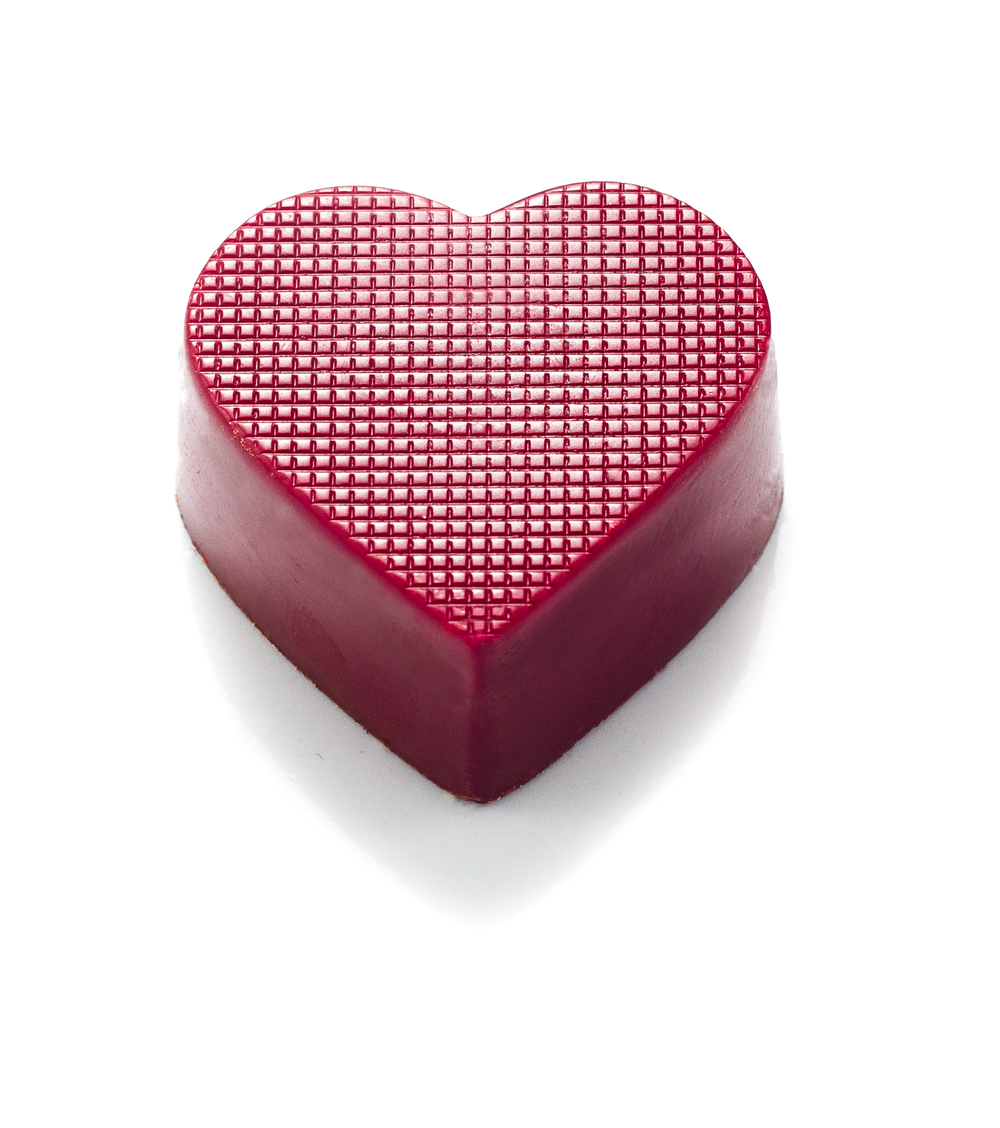 <b>SWEET HEART</b><P ALIGN=Left>Milk chocolate casing with a milk chocolate raspberry ganache</P>
