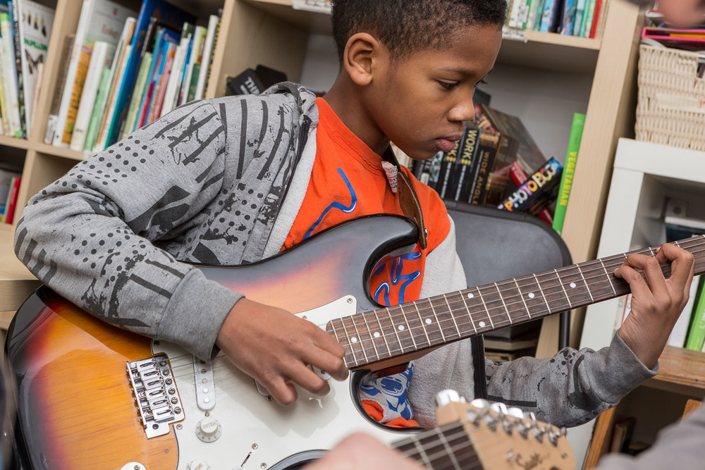 fun guitar classes for kids in Brooklyn