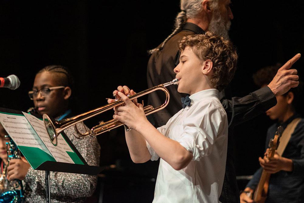 Tuesday Jazz Ensemble | Photo by Jaznina Santiago
