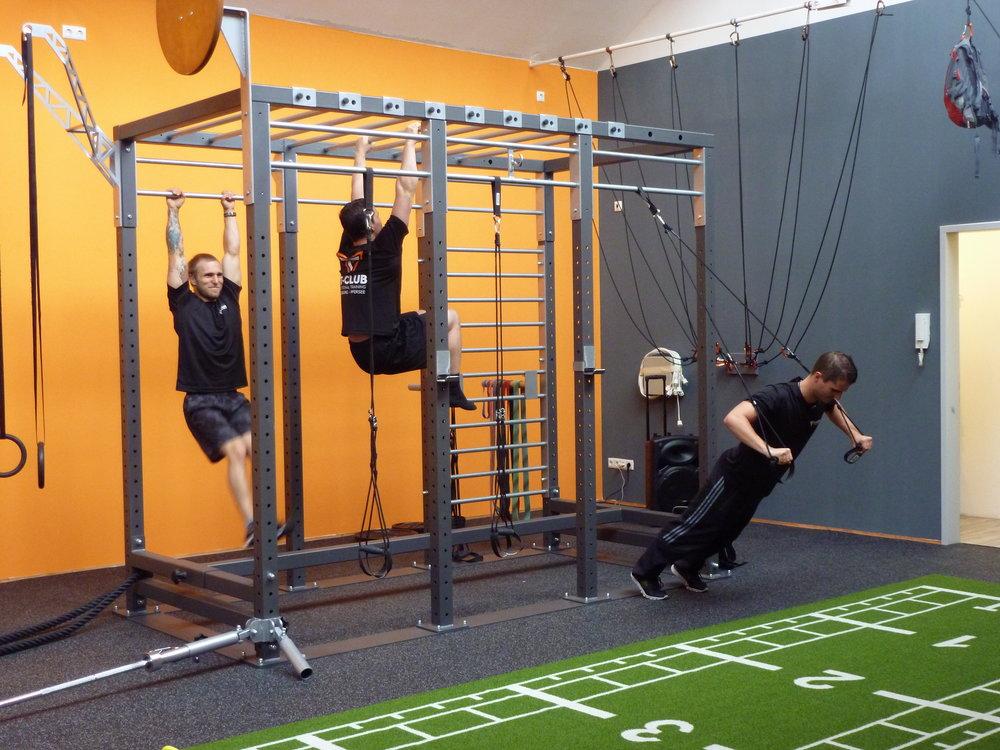 Der Crosstower im FT Club Augsburg Pfersee