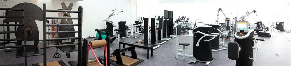 der neue Fitnessraum schon komplett inkl. 4 neuer eGym Geräte!