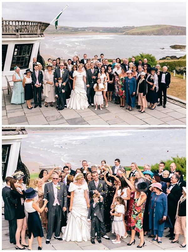 Katie & James Burgh Island Wedding (10)