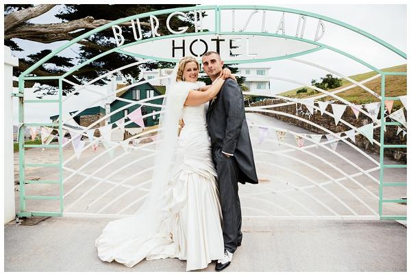 Katie & James Burgh Island Wedding (7)