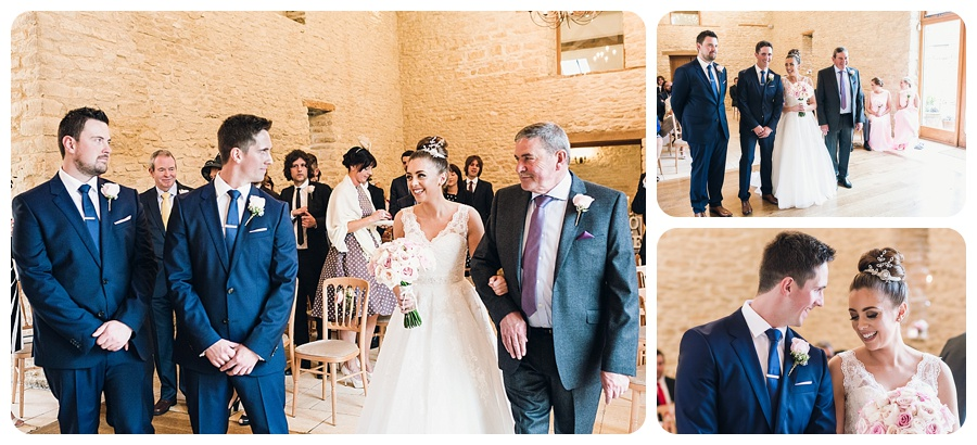 Kingscote Barn Wedding Katy & Pete (20)