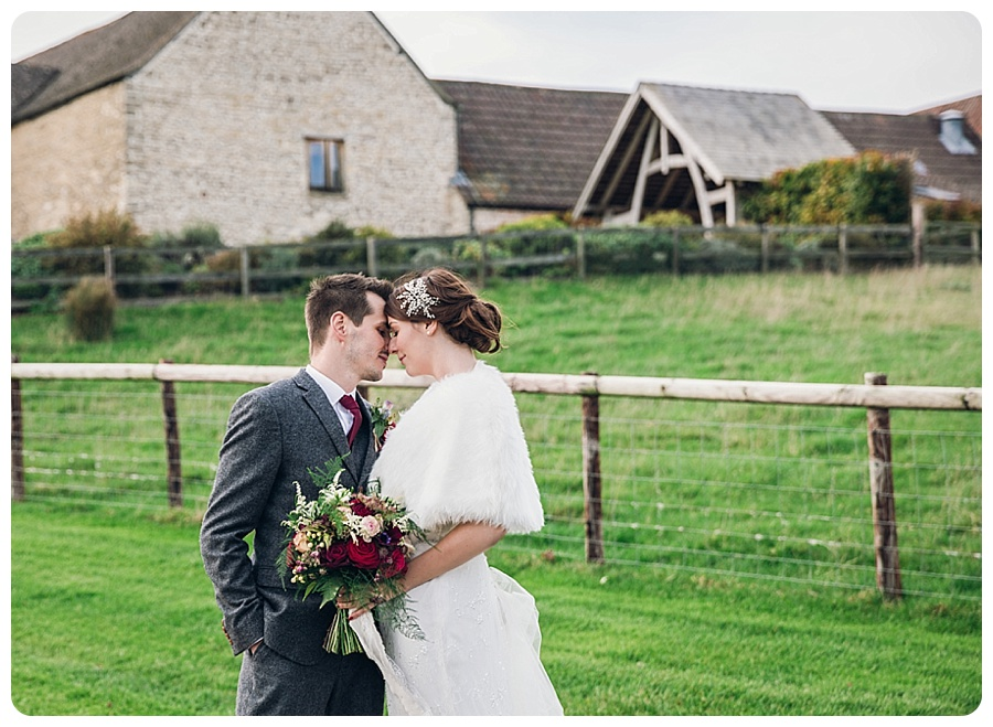 Kingscote Barn Wedding Alison & Stuart (10)