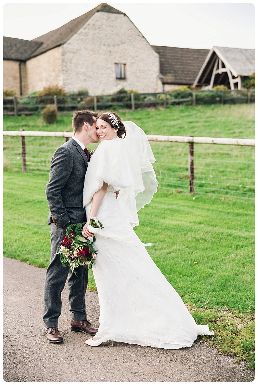 Kingscote Barn Wedding Alison & Stuart (9)
