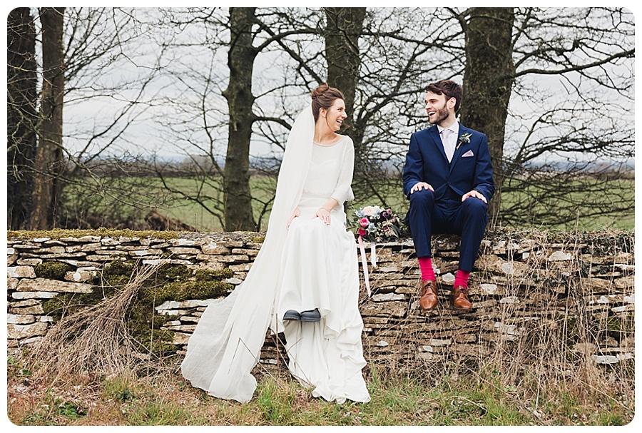 A Kingscote Barn Wedding In March Samantha Jane